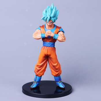 Anime Dragon Ball SÜPER Süper Warriors vol.4 Süper Saiyan DXF TANRı Süper Saiyan SSOSS Son Goku PVC Action Figure Oyuncak Bebek